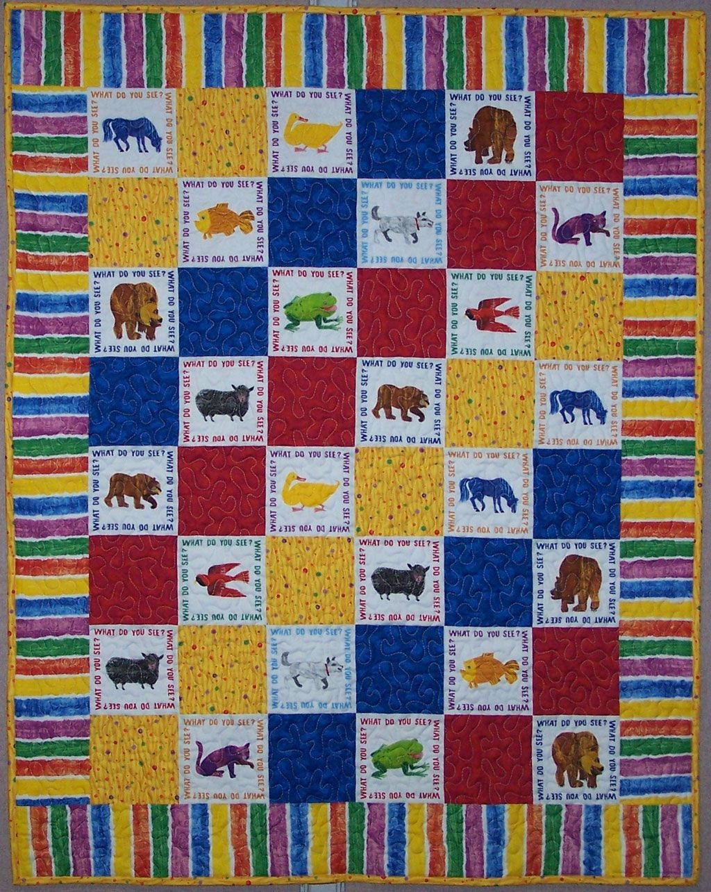 brown bear brown bear quilt - Google Search | Quilting | Pinterest ... : eric carle quilt kits - Adamdwight.com
