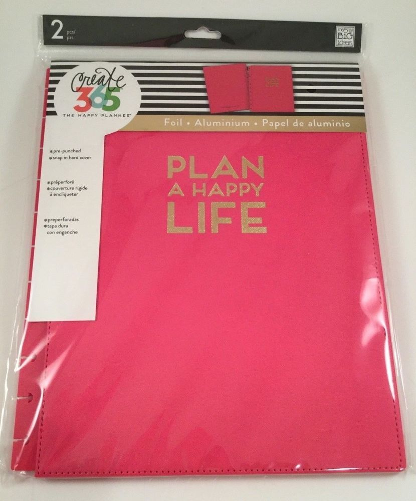 Create 365 The Happy Planner Large SnapIn Hard Cover Plan