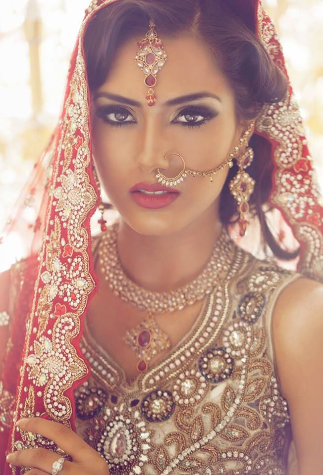 1480e1e5f2 Pin by Kam Ghai on Shaadi in 2019 | Indian wedding makeup, Asian bridal  makeup, Indian bridal makeup