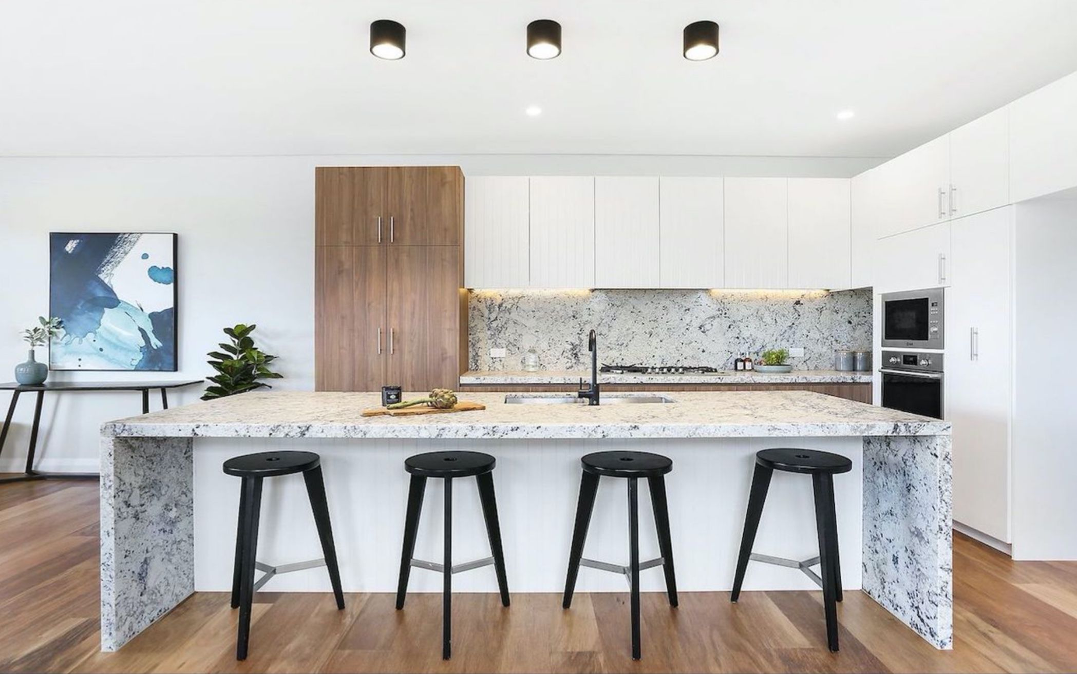 Contemporary Kitchen Is the Heart of this Home Ioanna