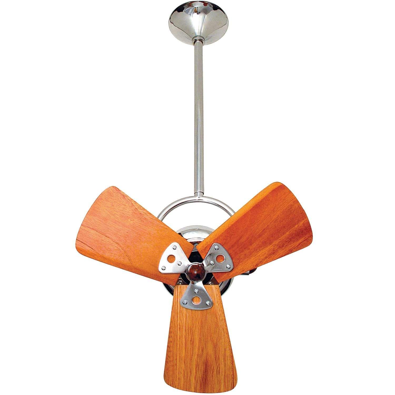 Bianca Direcional Ceiling Fan Wood Blades