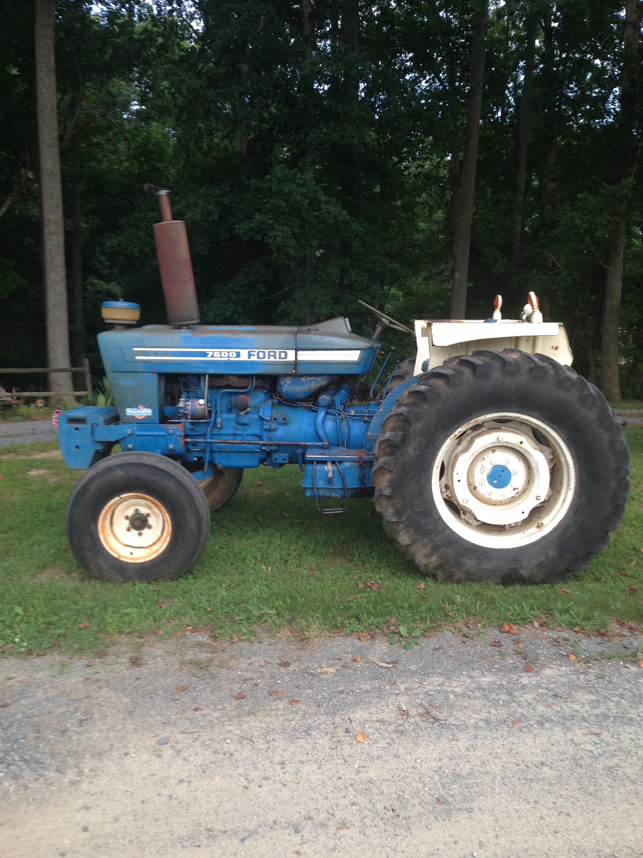 1977 Ford 7600 Classic Tractor Tractors Ford Tractors