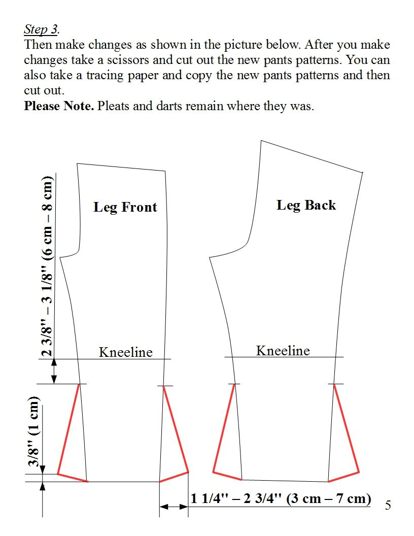 Image result for bell bottom trousers pattern | palazo pants pattern ...
