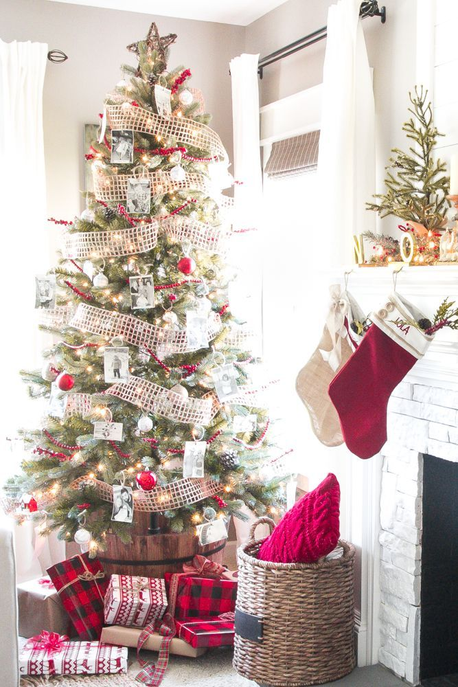 How To Decorate A Designer Christmas Tree On The Cheap Bless Er House Christmas Tree Design Blogger Decor Christmas Decorations