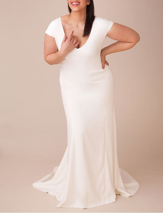 Stunning Plus Size Wedding Dresses Junebug Weddings Wedding Dress Styles Perfect Wedding Dress Wedding Dresses Plus Size