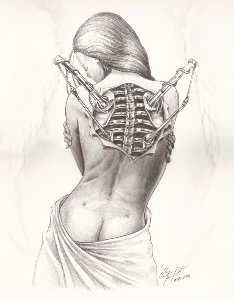 Mechanical angel pencil art by galen ihlenfeldt on deviantart