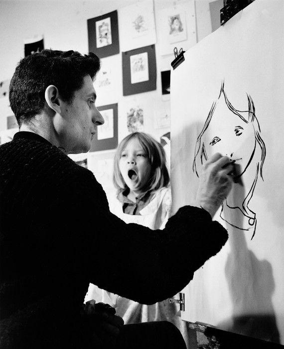 Roger Hilton  drawing Mary Hilton 1974