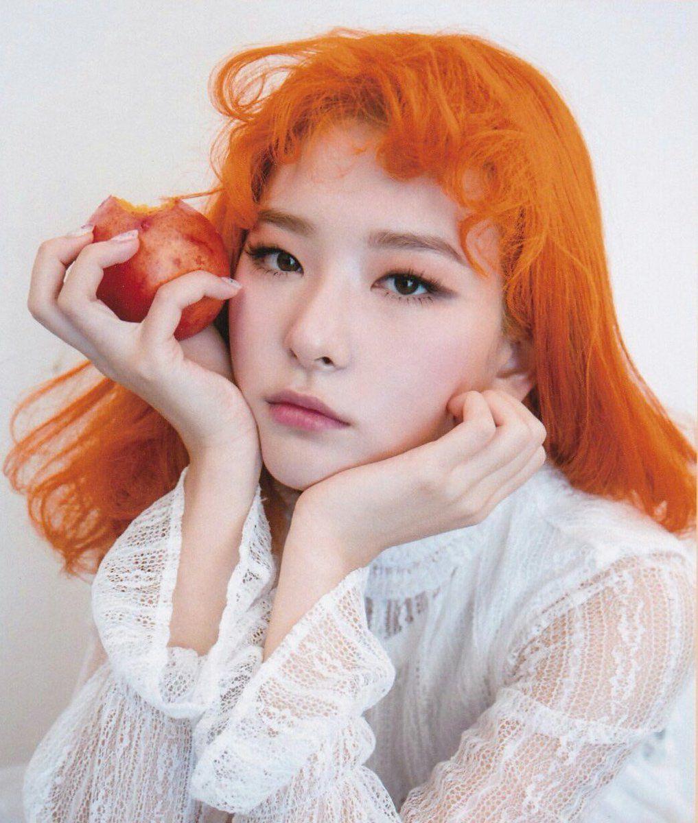Kang Seulgi S Orange Hair Appreciation Tweet Red Velvet Orange Hair Red Velvet Seulgi
