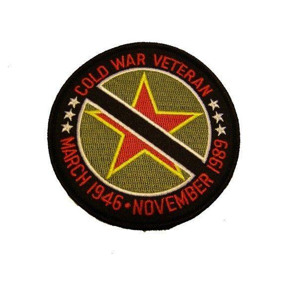 War Veteran March 1946  November 1989 PatchCold War Veteran March 1946  November 1989 Patch Etsy  Shopping Cart Better Dead Than Red Cold War Anti Communist Slogan Hammer...