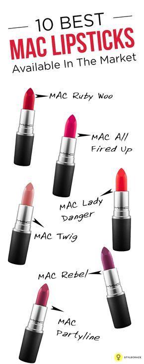 15 Best Mac Lipsticks You Need To Have  Best Mac Lipstick