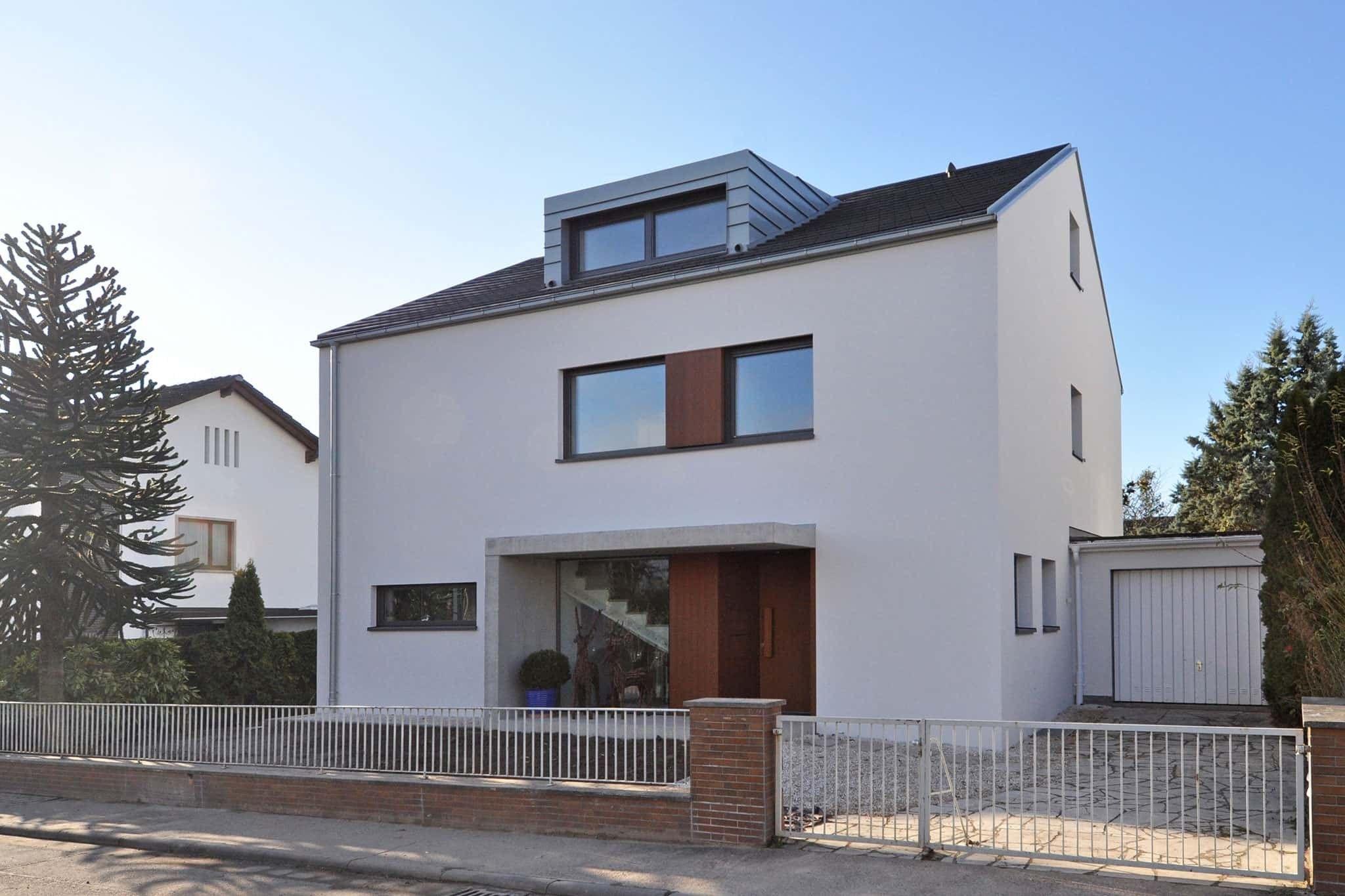 50er Jahre Haus Architektur Aschaffenburg www