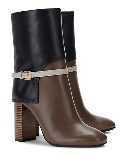 Tory Burch Faye Mid-Shaft Boots
