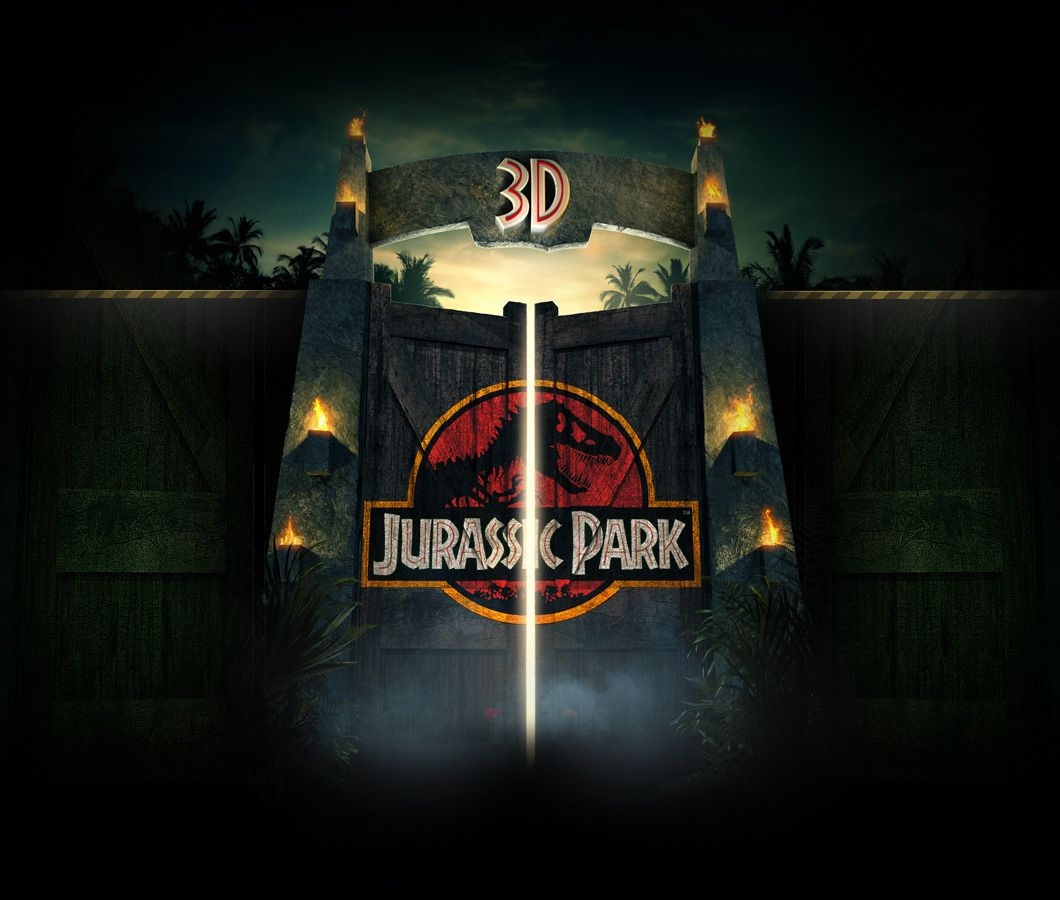 Review Jurassic Park 3d Evolves Classic Movie Magic With Dinosaurs Commanding New Attention On The Big Screen Inside The Magic Jurassic Park