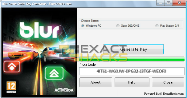 Pin on Blur Game Activation Code Generator No Survey Xbox
