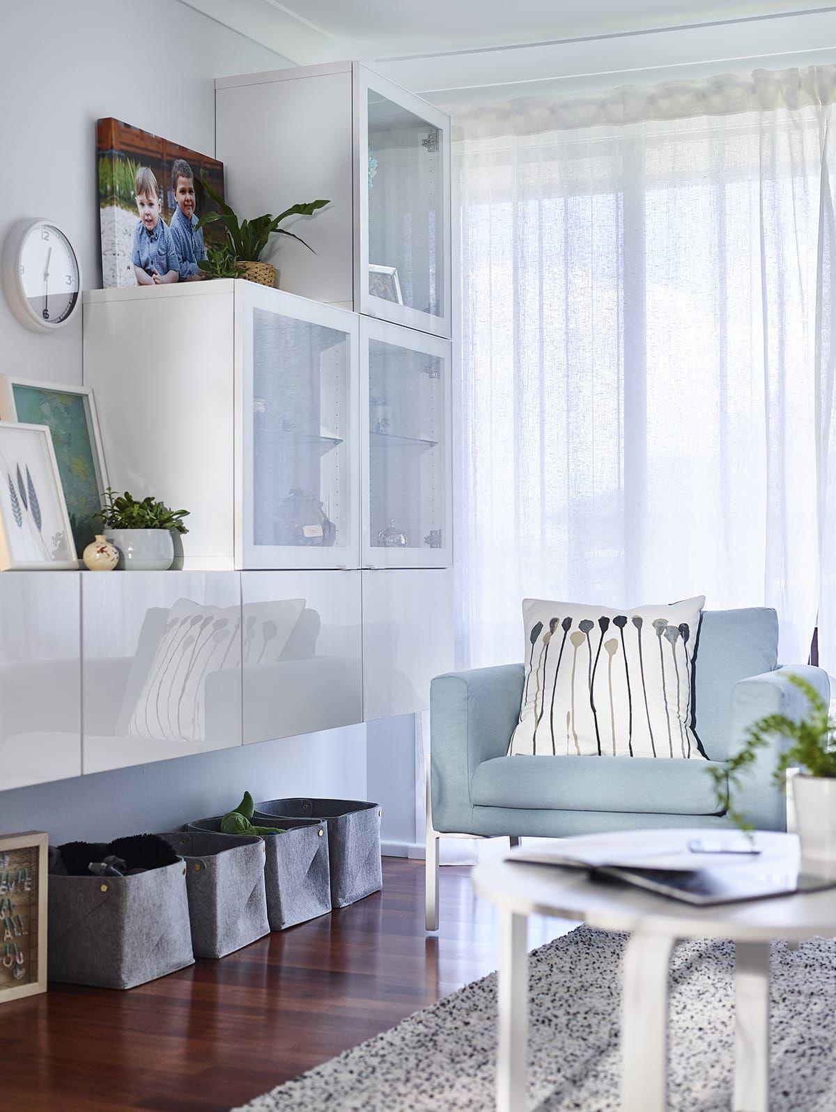 Inside a Stunning Budget IKEA Room Makeover   Living room ...