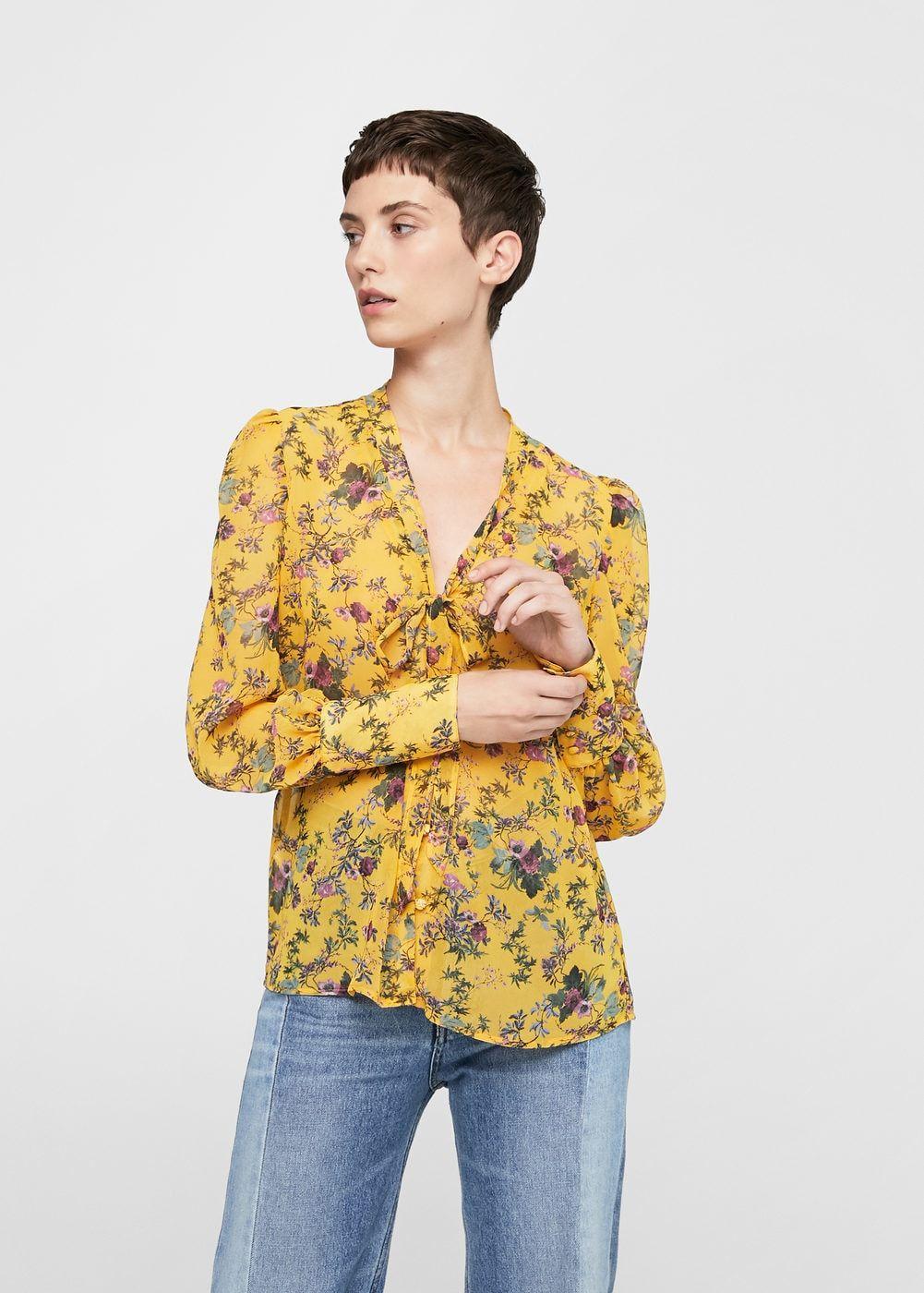 Bluse mit blumenmuster - Damen   Sommer Kleider   Pinterest   Bluse ... 8339f06961
