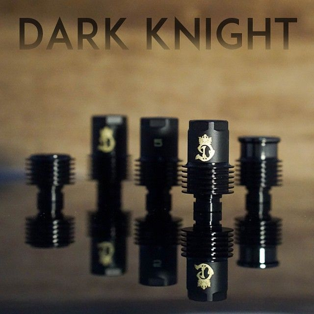 PROUDLY ANNOUNCING Dynasty's all-new Dark Knight Drip Tip