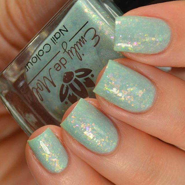 Emily de Molly Enchanted Forest is a light seafoam green jelly ...