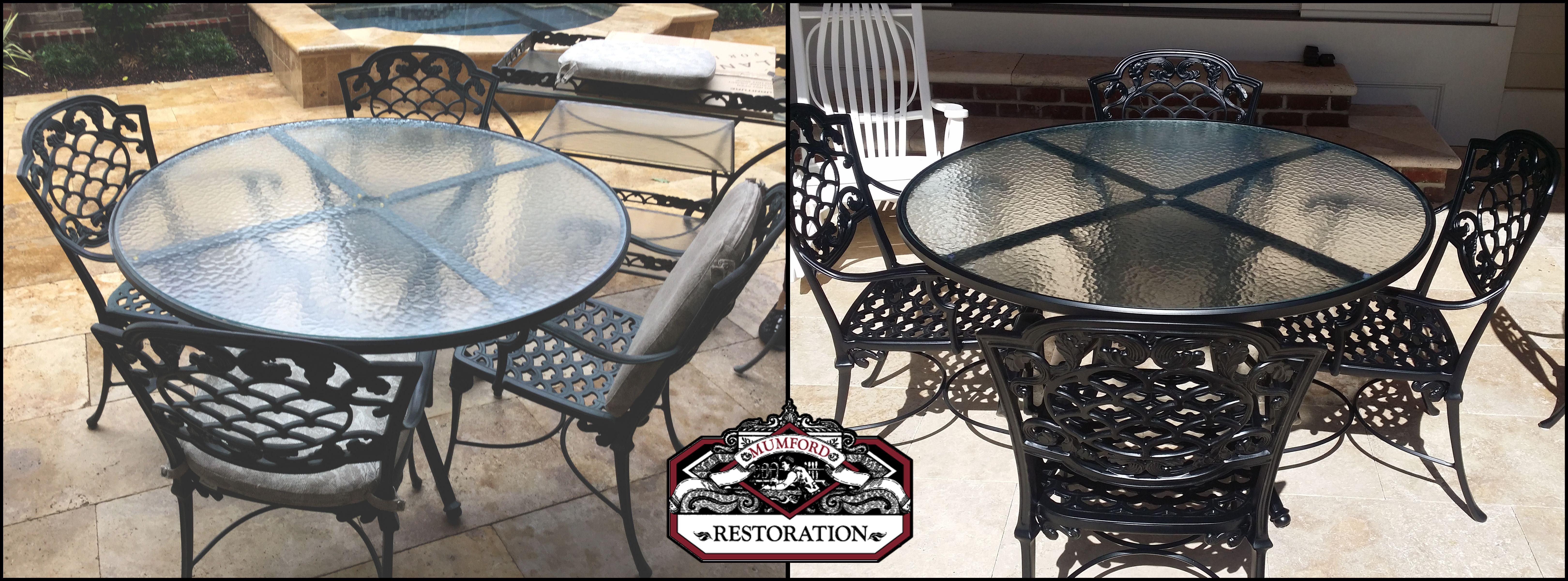 Outdoor Furniture Repair Restoration