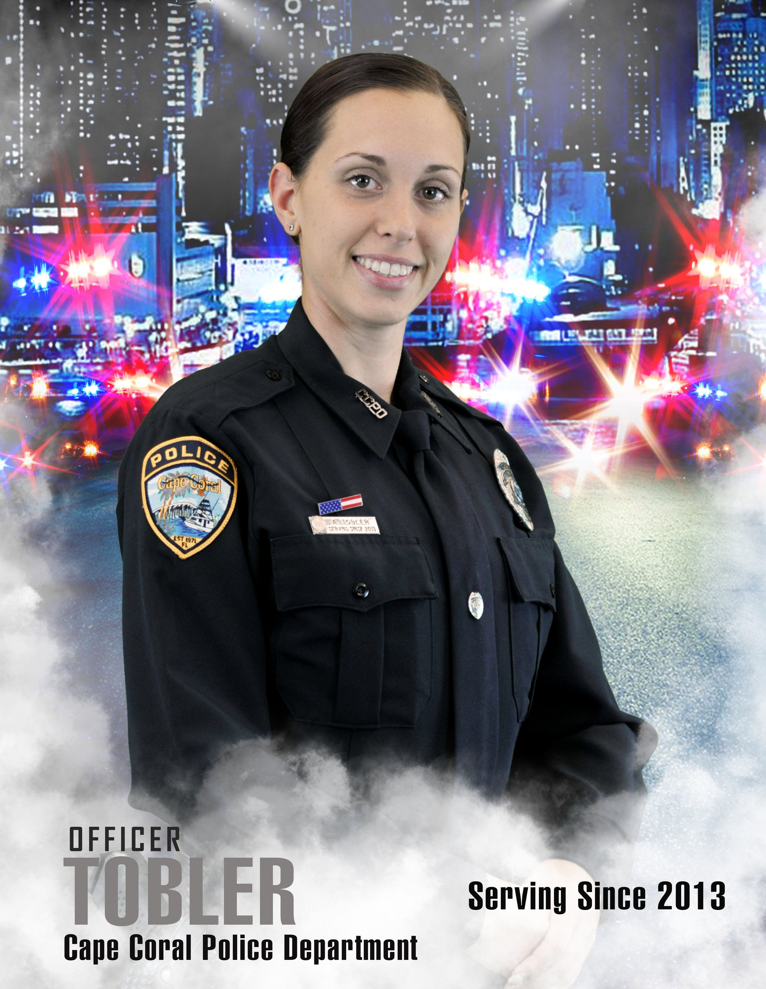 Women S History Month Officer Amanda Tobler Cape Coral Police Department Women In History Womens History Month Police Department