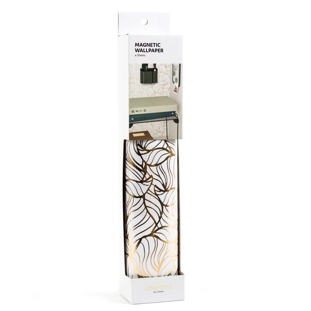 Foiled Leaves Locker Wallpaper Locker Style by UBrands