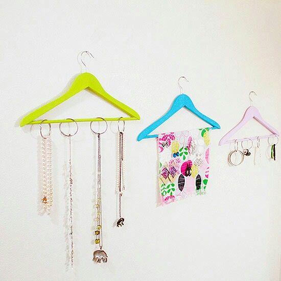 Pin by Anna Nikolenko on Popular Pinterest Diy jewelry organizer