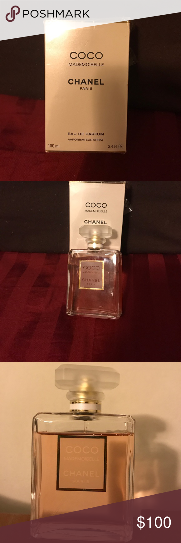 Chanel Coco Mademoiselle Authentic Perfume Pinterest Edp 100ml I Used It For 3 Times Onlypls