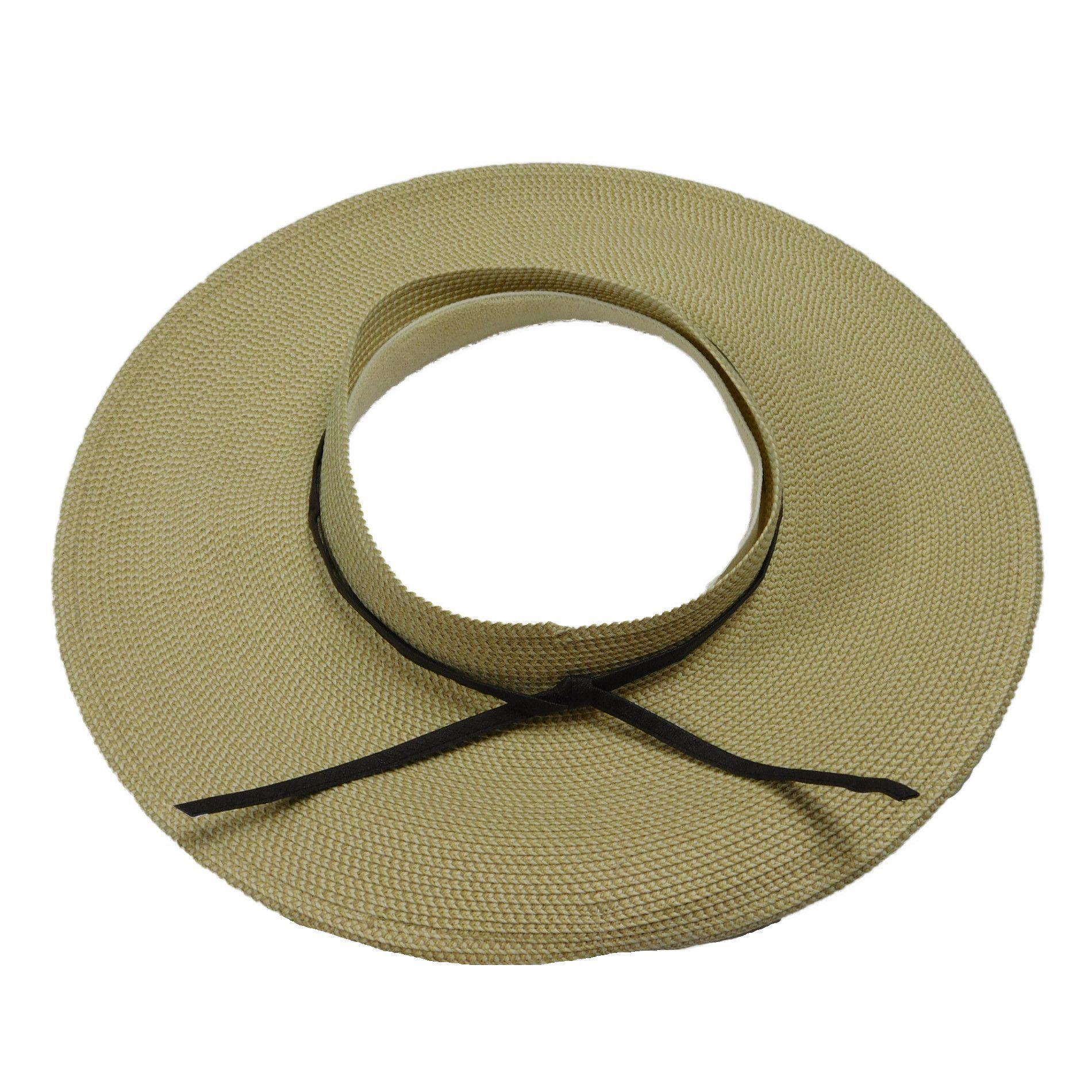 Crownless Sun Visor Hat By Jeanne Simmons Sun Visor Hat Visor Hats Sun Visors