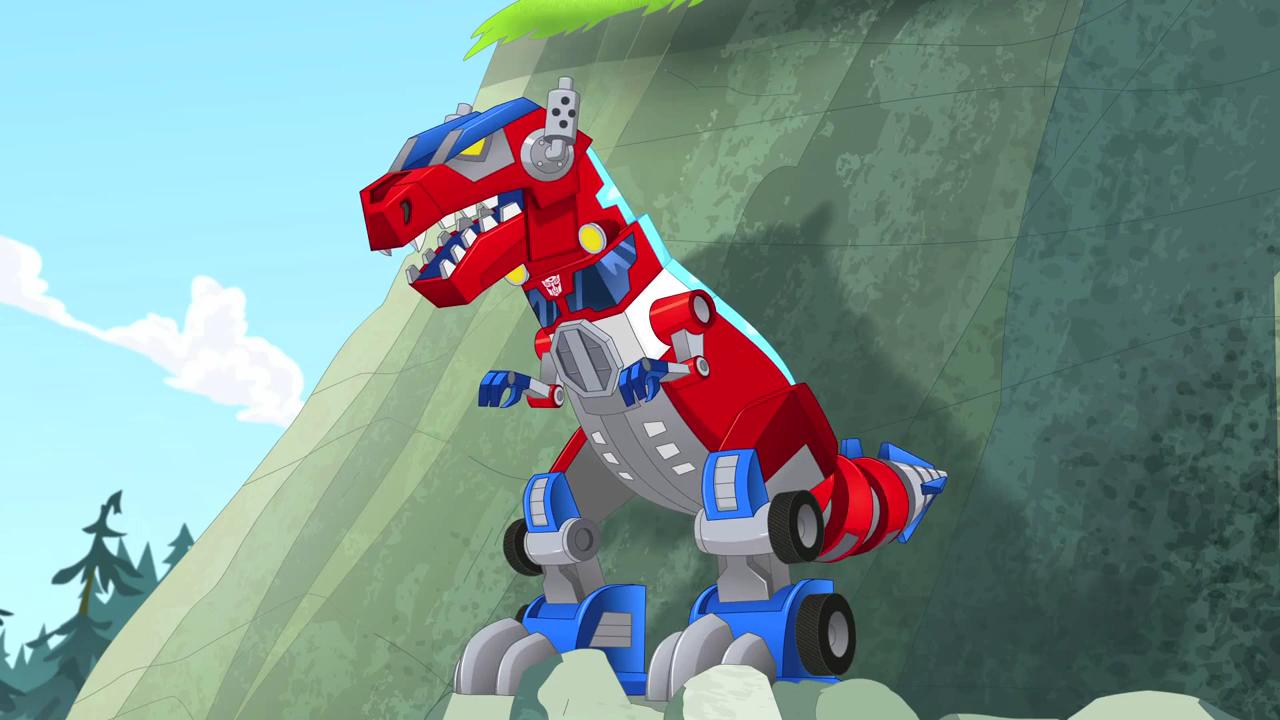 Aeonmagnus Transformers Rescue Bots Optimus Primal Optimus