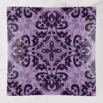 Lavender geometric damask trinket trays elegant gifts gift ideas lavender geometric damask trinket trays elegant gifts gift ideas custom presents negle Choice Image