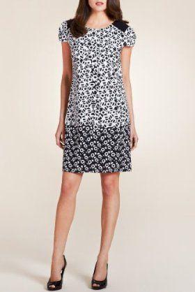 Per Una Pebble Print Dress [T62-6352I-S]