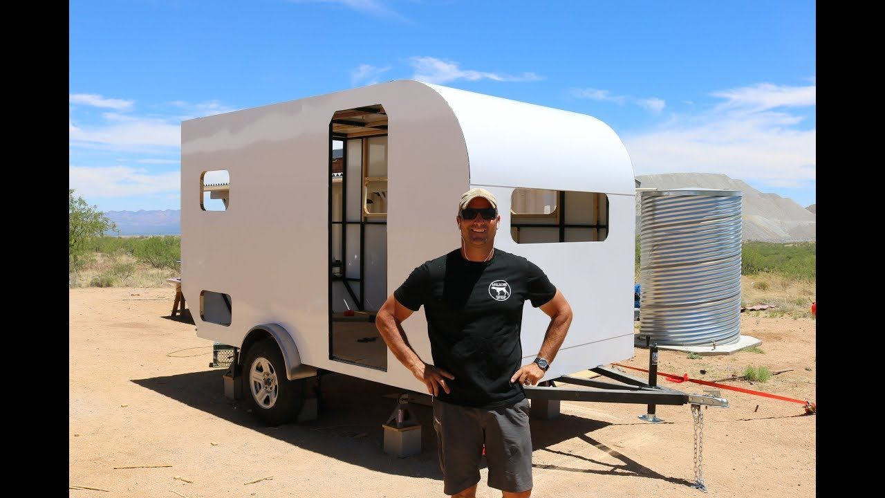 How To Build A Diy Travel Trailer Aluminum Exterior And More Part 2 Youtube In 2020 Diy Travel Trailer Travel Trailer Camping Trailer Diy