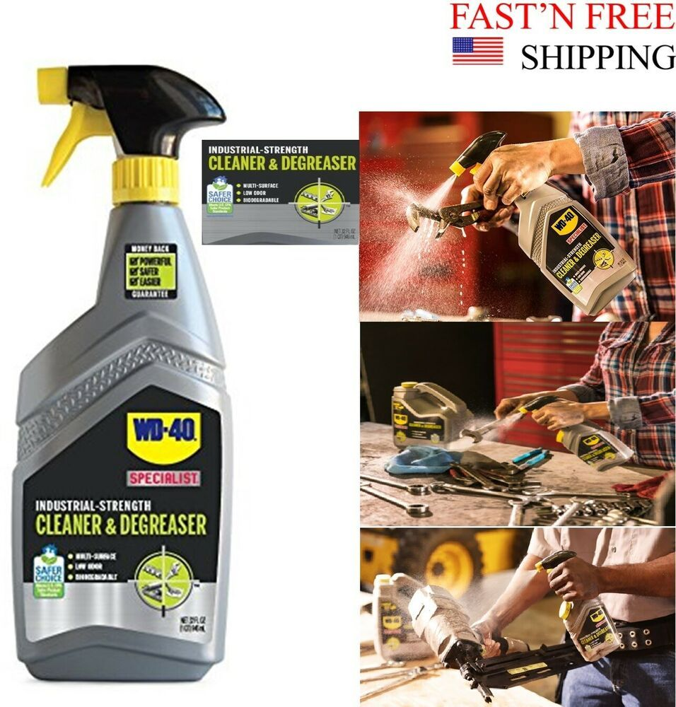 Wd 40 The Safer Way To Power Clean Industrial Strength Cleaner