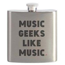 MUSIC GEEKS LIKE MUSIC Flask