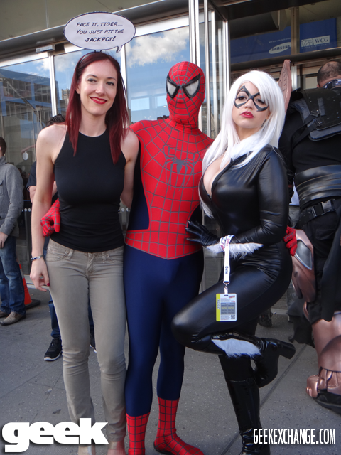 Mary Jane Spider Man And Black Cat Geek Cosplay Pinterest
