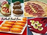 Image detail for -Birthday Party- Sports / Football themed party food! on we heart it ...