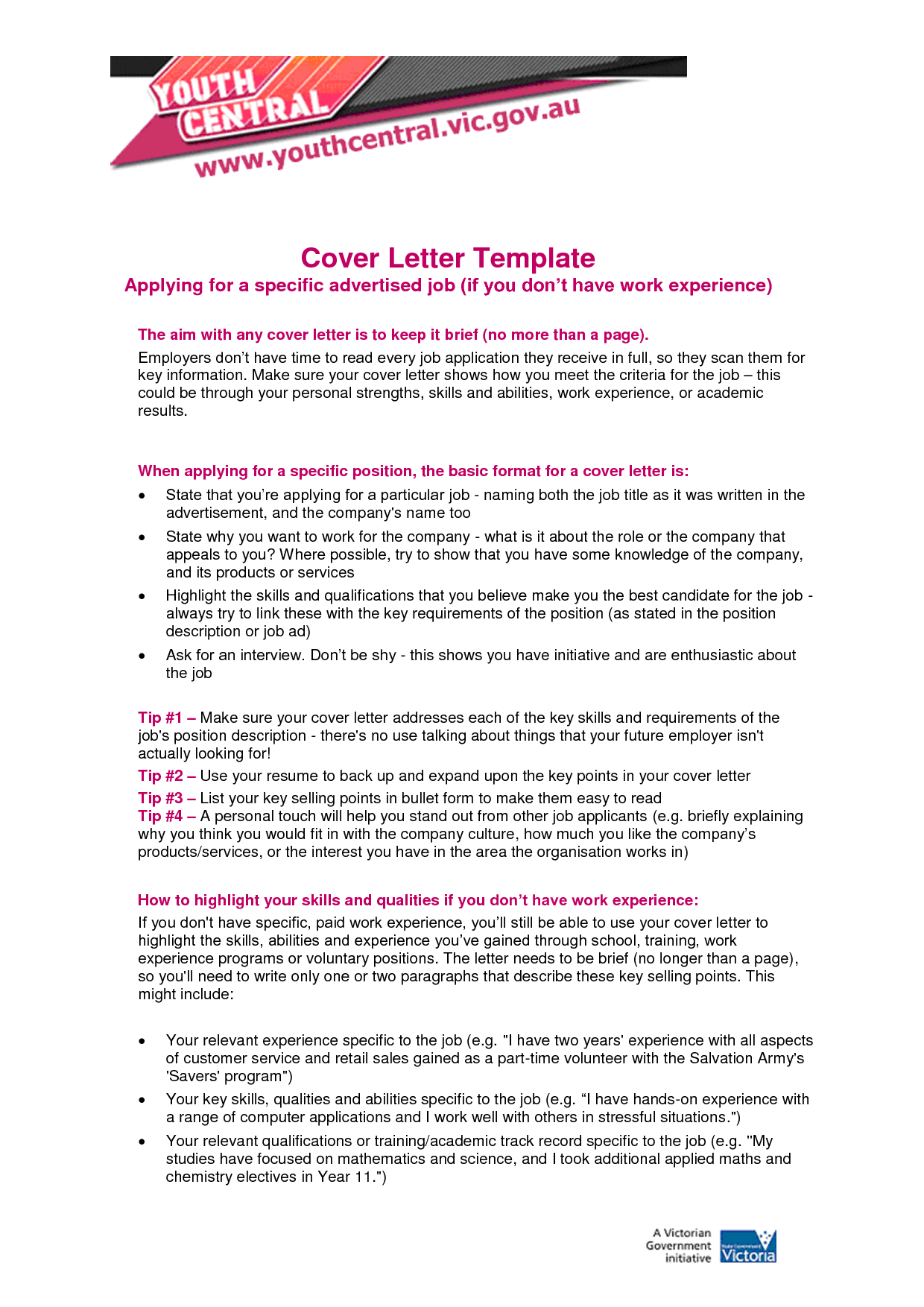 Cover Letter For Administrative Assistant Job