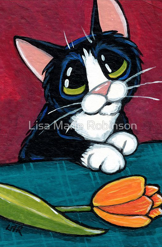 Picked This For You Greeting Card by Lisa Marie Robinson