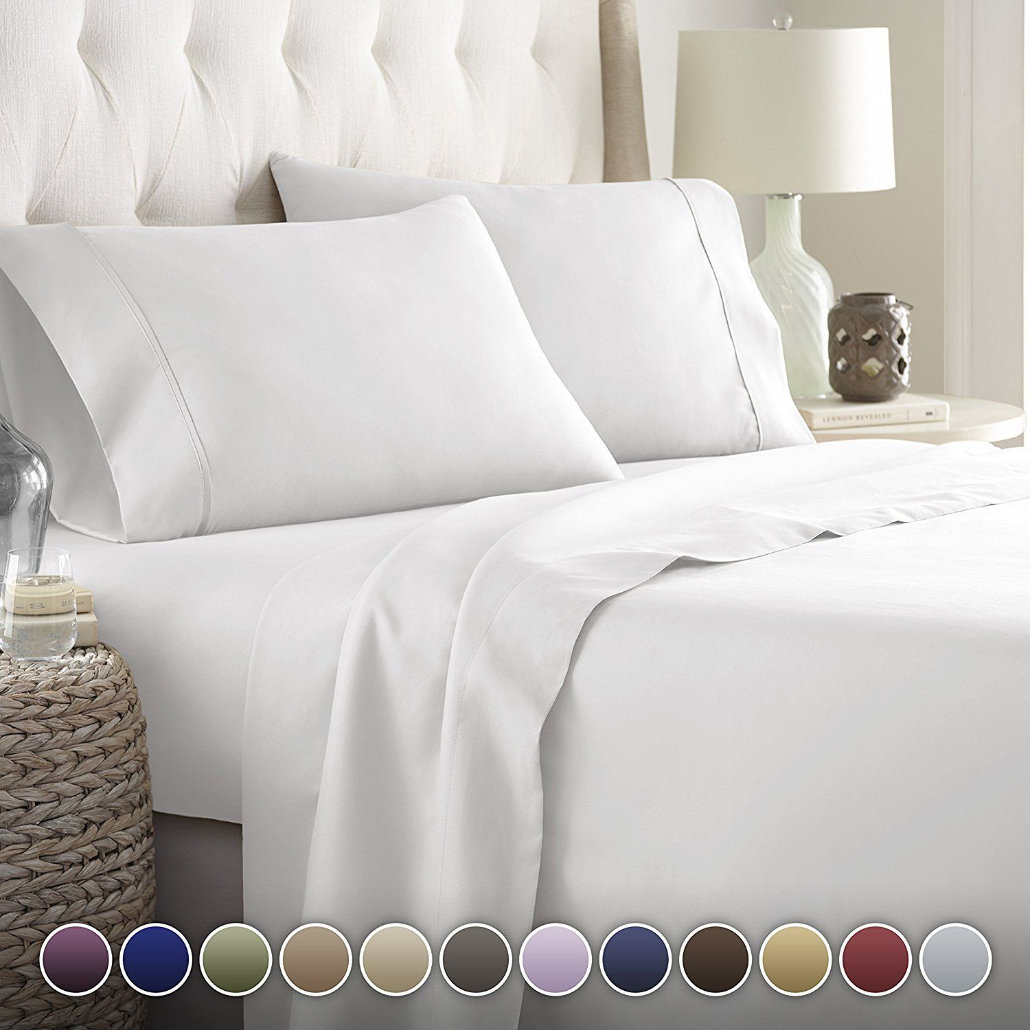 Hotel Luxury Bed Sheets SetTop Quality Softest Bedding