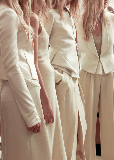 winter white suits