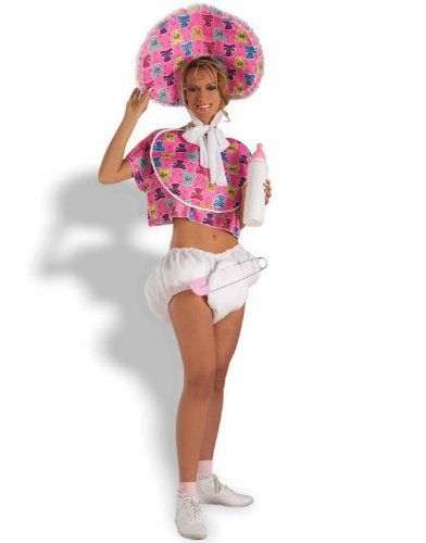 Baby Doll Adult Halloween Costume Standard