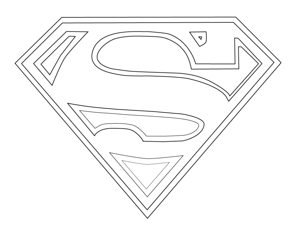Super Man Logo Coloring Sketch Http Colorasketch Com Super Man Logo Coloring Sketch Superman Coloring Pages Superhero Logo Templates Superhero Coloring Pages