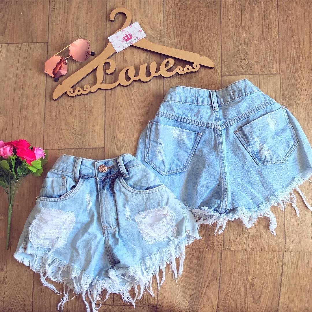 2fc841d97 Short Hot Pants 34 ao 42 - R$99 Frete Grátis ✨(CINTURA ALTA ...