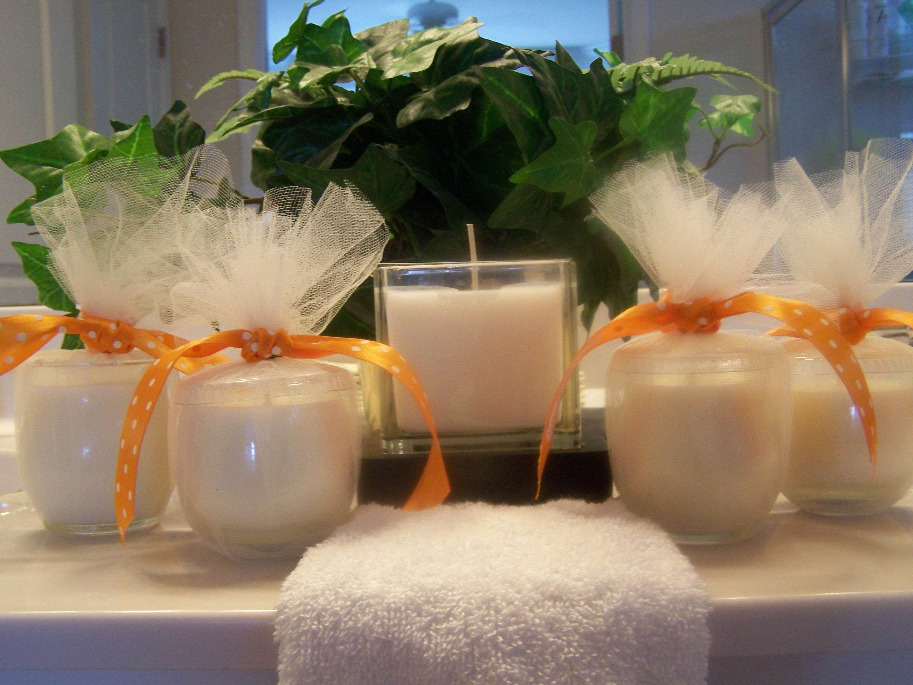 Soy Massage/Lotion Candles with Lemongrass Essential Oil