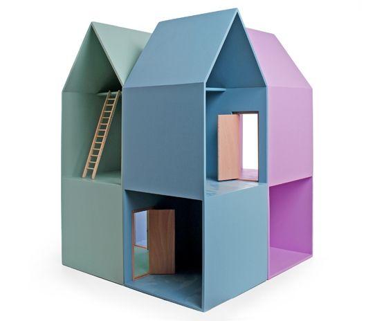 Turmhaus 119 Rosa Blau Orange Grün Hellgelb Toys