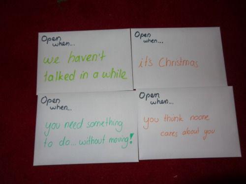 Briefe Dekorieren Terbaru : Open when tumblr love valentines pinterest