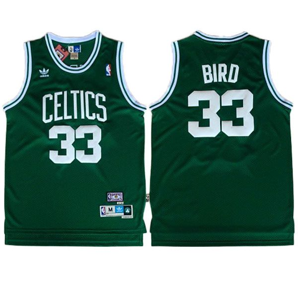 Larry  Bird Jersey - Boston Celtics Road Green Throwback  Basketball  Jersey.  Stitched e02492b61