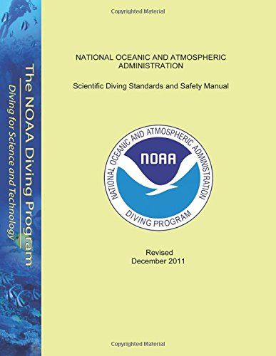Scientific Diving Standards And Safety Manual Revised December