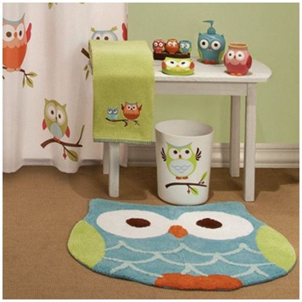 Perfect Owl Bathroom Accessories In Bathroom Ideas Syndet - Owl bathroom decor set for small bathroom ideas