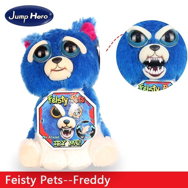 Feisty Pets Plush Dolls Toys Change Face Facebook Hot Sales Funny Animal Expression Stuffed For Kids Cute Prank Gift Stu Monkey Plush Monkeys Funny Plush Dolls